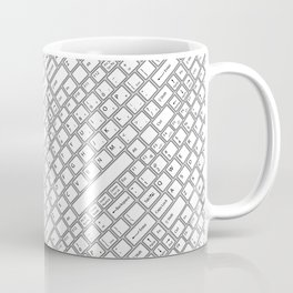 Keyboarded Coffee Mug