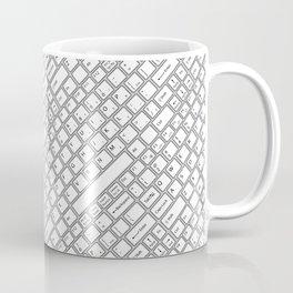 Keyboarded Coffee Mug