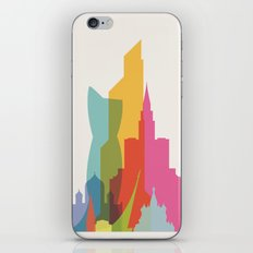 Shapes of Moscow iPhone Skin