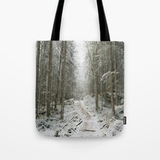 For now I am Winter - Landscape photography Tote Bag