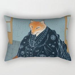 The Fox's Wedding Rectangular Pillow