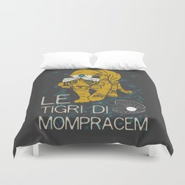Books Collection: Sandokan, The Tigers of Mompracem Duvet Cover