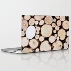 Woodpile Laptop & iPad Skin