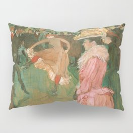 The Dance - Henri de Toulouse-Lautrec (1890) Pillow Sham