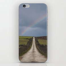 Path under the rainbow iPhone & iPod Skin