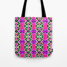 Neon Vibrations Tote Bag