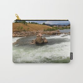 Kayak Practice Rapids in Durango Carry-All Pouch