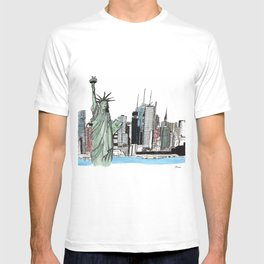 New York. T-shirt