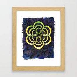 Portalattice Framed Art Print