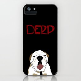 Derp 3 iPhone Case