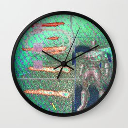 Potted Meat Man Goes Bonkers Wall Clock