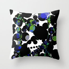 the abysses cover Throw Pillow
