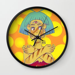 you can heal Wall Clock