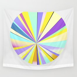 pastel sun Wall Tapestry