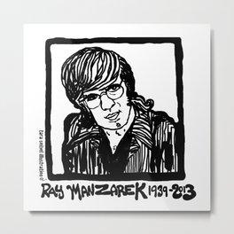 Ray Manzarik  Metal Print