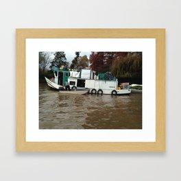 Groceries To Go Framed Art Print