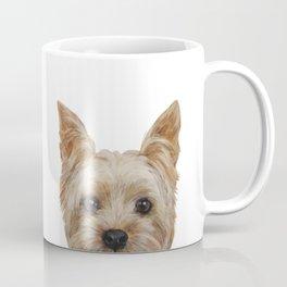 Yorkshire 2 Dog illustration original painting print Coffee Mug