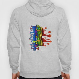 Abstract digital art - Grafenonci V2 Hoody