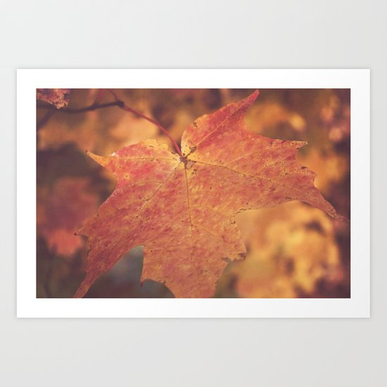 Autumn Bright Art Print