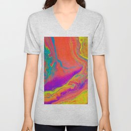 Psychedelic dream Unisex V-Neck