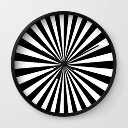 2017 COLLECTION| BLACK AND WHITE |  OPTICAL Wall Clock