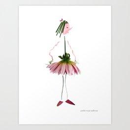 Ballet Snitt Art Print