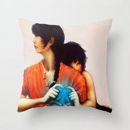 Ranma and Akane Throw Pillow