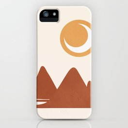 Abstract Night iPhone Case