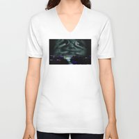 photograph V-neck T-shirts featuring Photograph 3 by Mauricio De Fex
