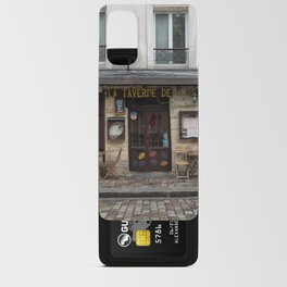 Cafe in Monmartre Paris Android Card Case