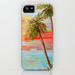 California Coast Sunset iPhone Case