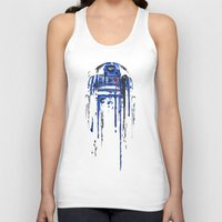 geek Tank Tops featuring A blue hope 2 by SMAFO