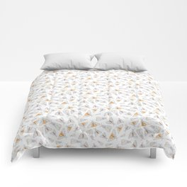 Salt Moth Geometric Pattern Comforters