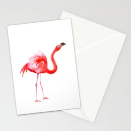 Flamingo #3 Stationery Cards