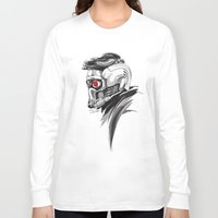 star lord Long Sleeve T-shirts featuring Star Lord by Dik Low