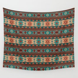 Southwest Design Turquoise Terracotta Wall Tapestry