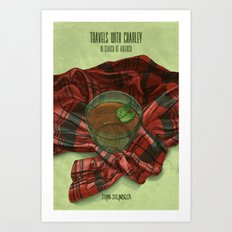 Travels with Charley Art Print