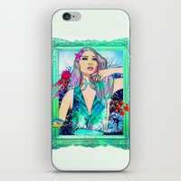 pisces iPhone & iPod Skins featuring Pisces by Sara Eshak