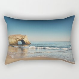 Natural Bridges State Beach ... Rectangular Pillow