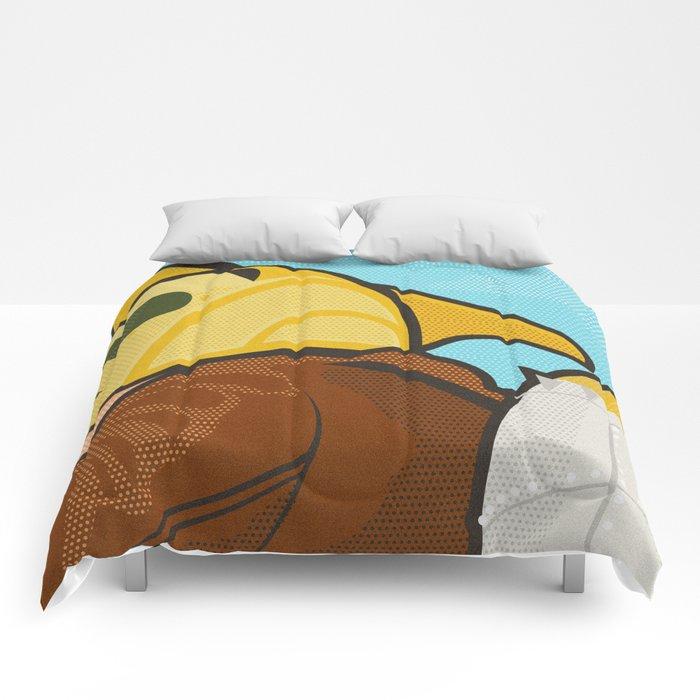 Go get 'em, kid Comforters