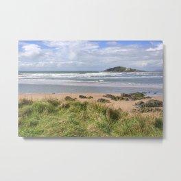 Bantham and Burgh Island Metal Print