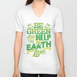 Environmentalist Gift Unisex V-Neck