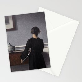 Interior with Young Woman from Behind, 1904 Stationery Cards