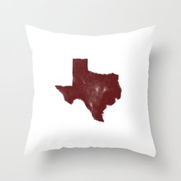 The Texas Are We - Shanna Throw Pillow