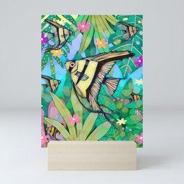 Angelfish No. 4 Mini Art Print