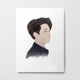 Kwon Soonyoung Metal Print