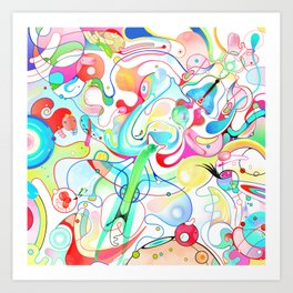 Pattex Art Print