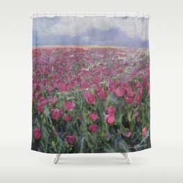 Flower Fields Shower Curtain