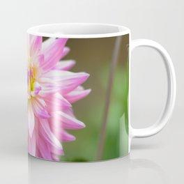 Pink Dahlia Flower Coffee Mug