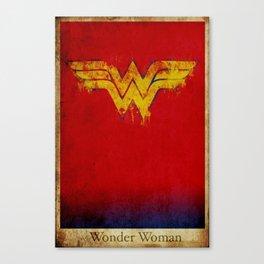 Wonder Logo Canvas Print